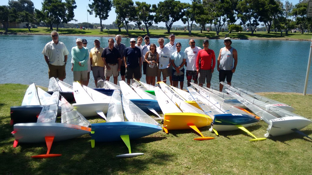 VO70 2015 Race Week Class Photo (2)