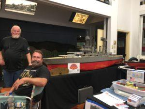 Ron Tindall & Mark Shaw USS California 1937