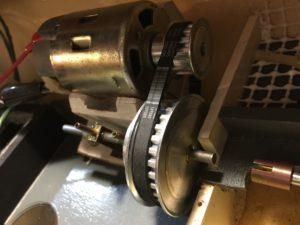 Pogo Tug Cogged Belt Drive Upgrade